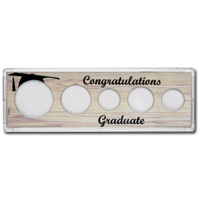 Image for Snaplock 5 Coin Holder - Graduate from Littleton Coin Company