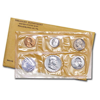 Image for 1961 U.S. Mint Silver Proof Set (5 coins), Choice Proof, PR63 from Littleton Coin Company