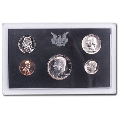 Image for 1971-S U.S. Mint Clad Proof Set (5 coins), Choice Proof, PR63 from Littleton Coin Company