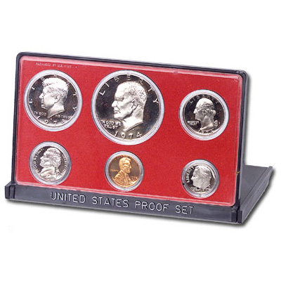 Image for 1974-S U.S. Mint Clad Proof Set (6 coins), Choice Proof, PR63 from Littleton Coin Company