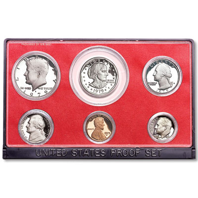 Image for 1979-S U.S. Mint Clad Proof Set, T1 Filled