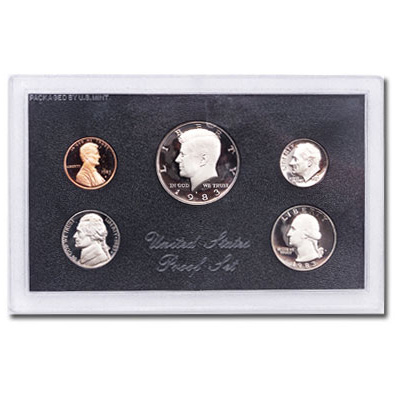 Image for 1983-S U.S. Mint Clad Proof Set (5 coins), Choice Proof, PR63 from Littleton Coin Company