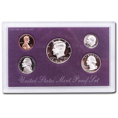 Image for 1991-S U.S. Mint Clad Proof Set (5 coins), Choice Proof, PR63 from Littleton Coin Company