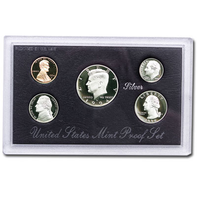 Image for 1994-S U.S. Mint Silver Proof Set (5 coins), Choice Proof, PR63 from Littleton Coin Company