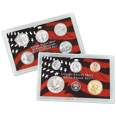 Image for 2000-S U.S. Mint Silver Proof Set (10 coins), Choice Proof, PR63 from Littleton Coin Company