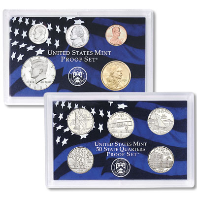 Image for 2001-S U.S. Mint Clad Proof Set (10 coins), Choice Proof, PR63 from Littleton Coin Company