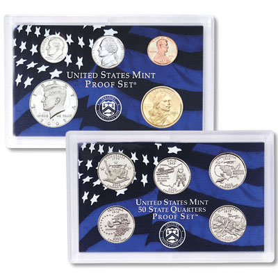 Image for 2002-S U.S. Mint Clad Proof Set (10 coins), Choice Proof, PR63 from Littleton Coin Company