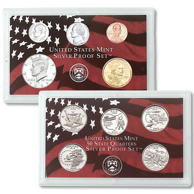 Image for 2002-S U.S. Mint Silver Proof Set (10 coins), Choice Proof, PR63 from Littleton Coin Company