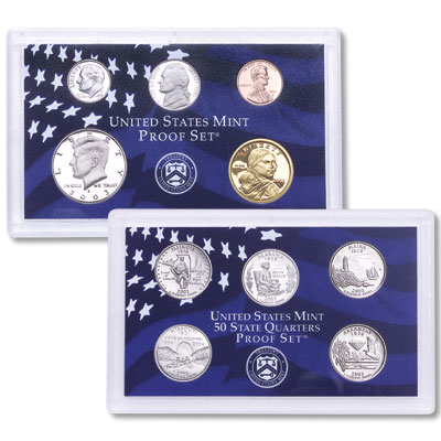 Image for 2003-S U.S. Mint Clad Proof Set (10 coins), Choice Proof, PR63 from Littleton Coin Company