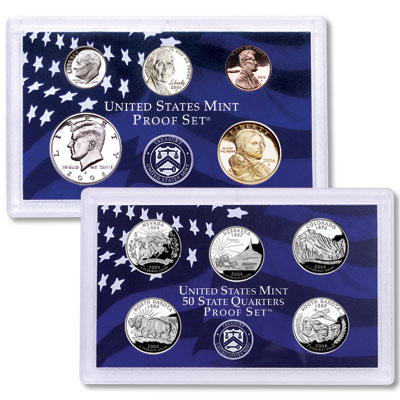 Image for 2006-S U.S. Mint Clad Proof Set (10 coins), Choice Proof, PR63 from Littleton Coin Company