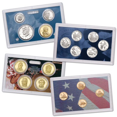 Image for 2009-S U.S. Mint Clad Proof Set (18 coins), Choice Proof, PR63 from Littleton Coin Company