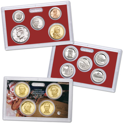 Image for 2010-S Silver Proof Set (14 coins), Choice Proof, PR63 from Littleton Coin Company
