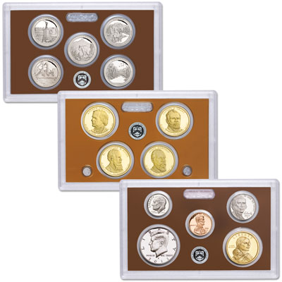 Image for 2011-S U.S. Mint Clad Proof Set (14 coins), Choice Proof, PR63 from Littleton Coin Company