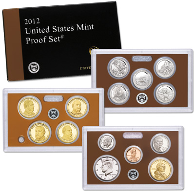 Image for 2012-S U.S. Mint Clad Proof Set (14 coins) from Littleton Coin Company