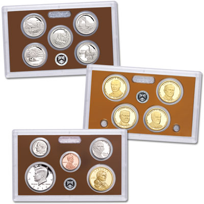 Image for 2014-S U.S. Mint Clad Proof Set (14 coins) from Littleton Coin Company