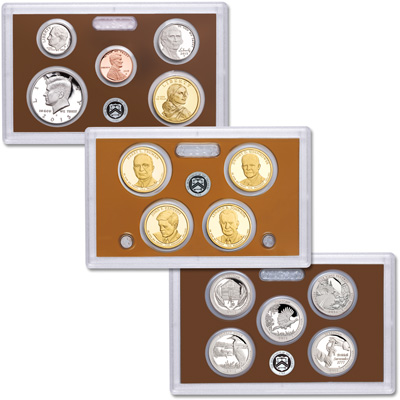 Image for 2015-S U.S. Mint Clad Proof Set (14 coins) from Littleton Coin Company