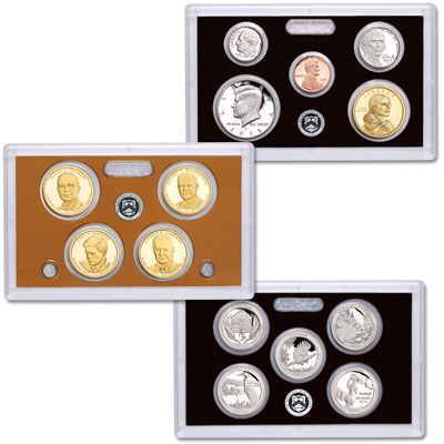 Image for 2015-S U.S. Mint Silver Proof Set (14 coins) from Littleton Coin Company