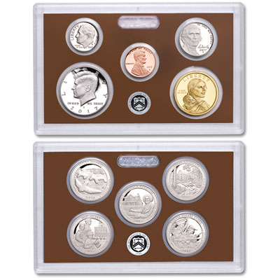 image for 2017s us mint clad proof set from littleton coin company