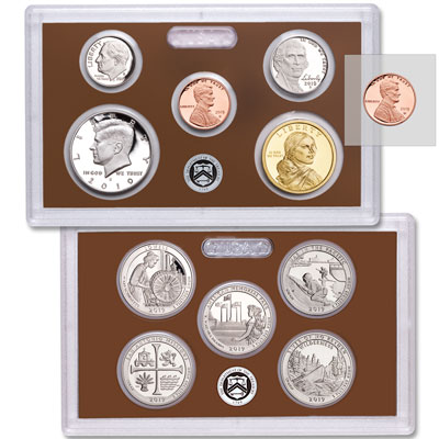 Image for 2019-S U.S. Mint Clad Proof Set from Littleton Coin Company