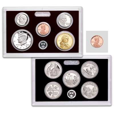Image for 2019-S U.S. Mint Silver Proof Set from Littleton Coin Company