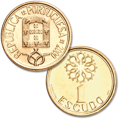 Image for 1986-2000 Portugal 1 Escudo from Littleton Coin Company
