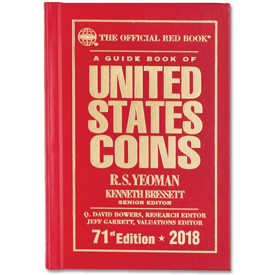 Image for 2018 Guide Book of U.S. Coins (Hardcover) from Littleton Coin Company