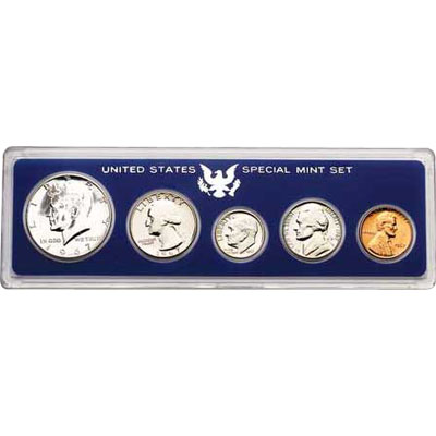 Image for 1967 Special U.S. Mint Set (Hard Holder), Uncirculated from Littleton Coin Company