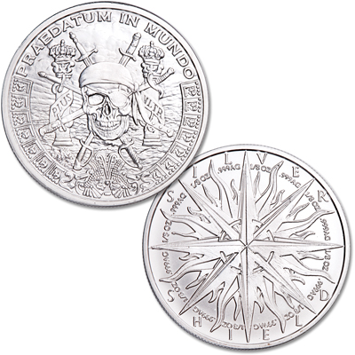 Image for Pieces of Eight 1 oz. Silver Round from Littleton Coin Company