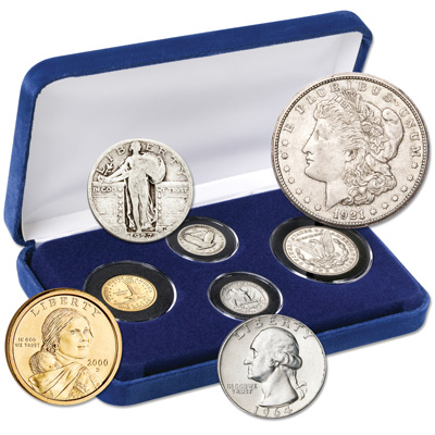 Image for American Eagle Freedom Set (4 coins) from Littleton Coin Company