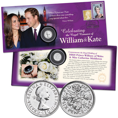 Image for Royal Romance Commemorative Cover from Littleton Coin Company