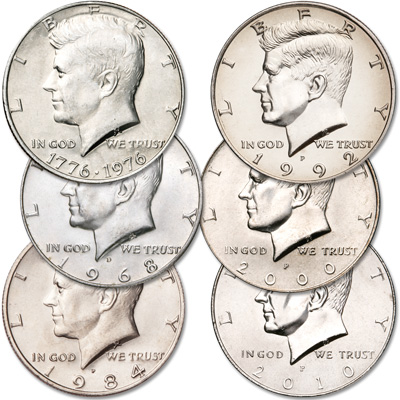 Image for 1968-2010 Kennedy Half Decade Set from Littleton Coin Company