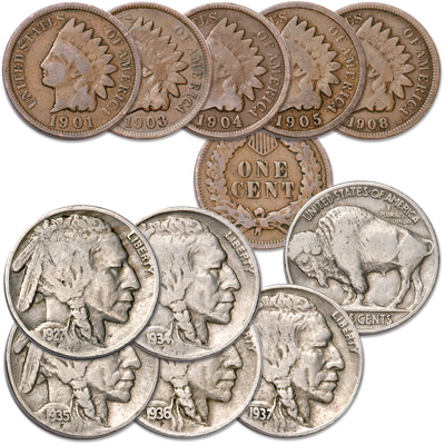 Image for America's Western Frontier Collection (10 coins) from Littleton Coin Company