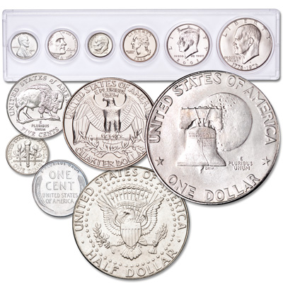 Image for 1943-2015 Presidential Tribute Set from Littleton Coin Company