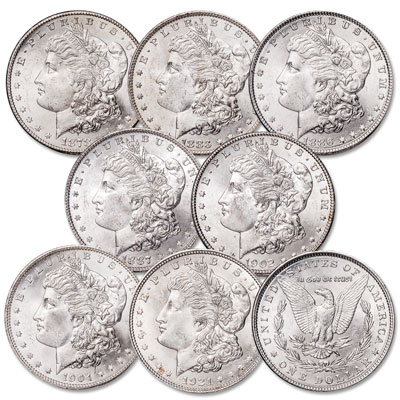 Image for 1878-1921 Morgan Dollar Set from Littleton Coin Company