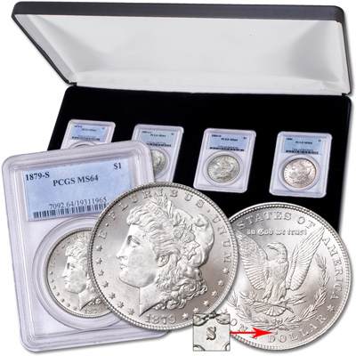 Image for 1880s Morgan Dollar All-Mint Set from Littleton Coin Company