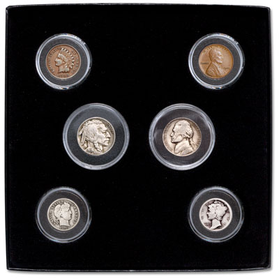 Image for 1909-1938 Coins of Transition Set from Littleton Coin Company