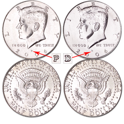 Image for 2006 P&D Kennedy Half Dollars from Littleton Coin Company