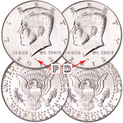 Image for 2013 P&D Kennedy Half Dollars from Littleton Coin Company