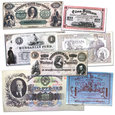 Image for Bank Notes That Made History Replica Set from Littleton Coin Company