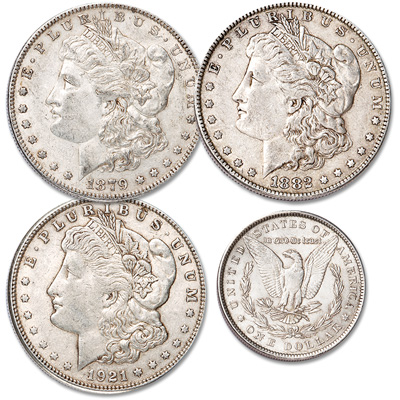 Image for 1879-1921 Morgan Silver Dollar Starter Set from Littleton Coin Company