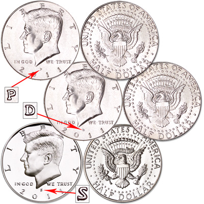 Image for 2011 Complete PDS Kennedy Half Dollar Set from Littleton Coin Company