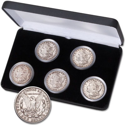 Image for 1879-1921 Morgan Dollar Decade Set from Littleton Coin Company