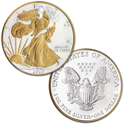 Image for 2020 Electroplated Silver American Eagle with Box from Littleton Coin Company