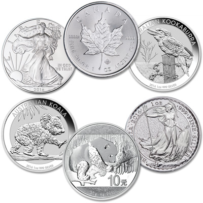 Image for 2016 Silver World Coins from Littleton Coin Company