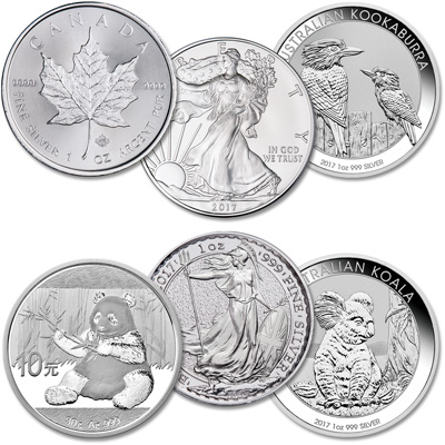 Image for 2017 Silver World Coins from Littleton Coin Company