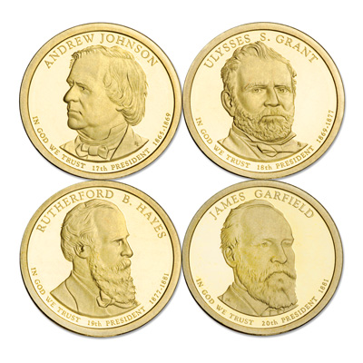 Image for 2011-S Presidential Dollar Proof Year Set from Littleton Coin Company