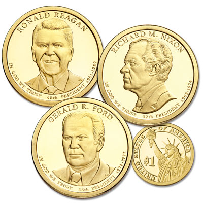 Image for 2016-S Presidential Dollar Proof Year Set from Littleton Coin Company
