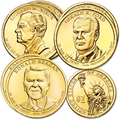 Image for 2016 P&D Presidential Dollar Set from Littleton Coin Company