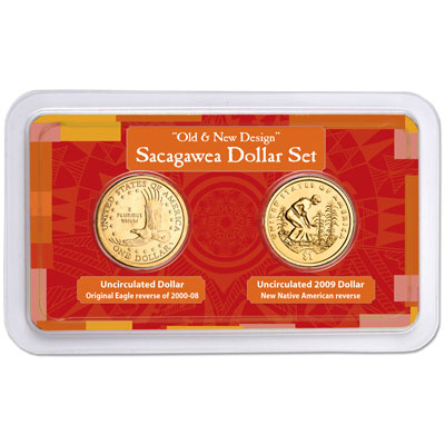Image for Old & New Sacagawea Dollar Showpak from Littleton Coin Company