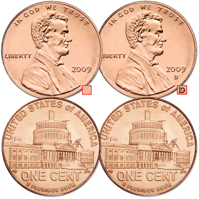 Image for 2009 P&D Lincoln Presidency Cent Set, Uncirculated, MS60 from Littleton Coin Company